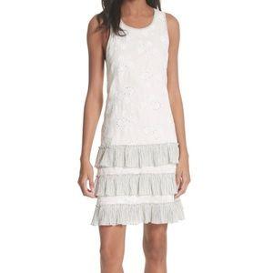 Rebecca Taylor Garden Eyelet Linen Dress